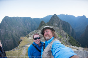 Red & Brad at Machu Picchu